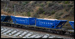 Sgns/MMC de Renfe (javier-lopez) Tags: train tren trenes railway mmc sal contenedor sgns contenedores plataforma manresa arboç renfe vagón plataformas flix salero adif ffcc mercancías 02042007 portacontenedores teifer l'arboç 2mm9s