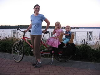 Xtracycle and icecream
