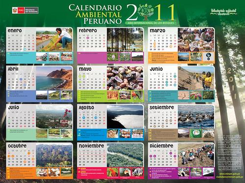 CALENDARIO AMBIENTAL PERUANO 2011