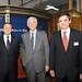 Jesús Diez, Ricardo Ariztía y Pablo Granifo, Presidente del Banco de Chile.