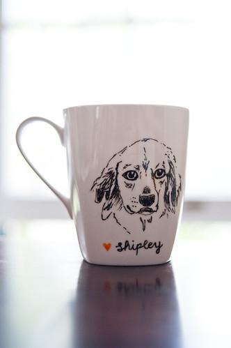 shipley dog mug