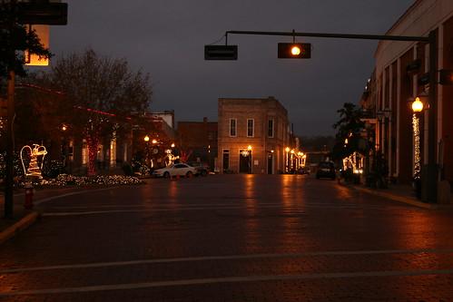 looking west down main street