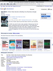 Get Seen in the Google ebookstore