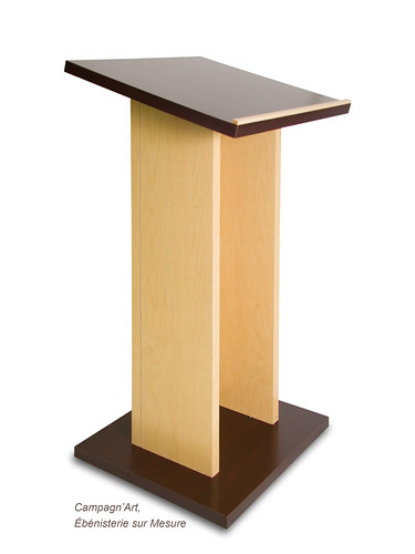 Lightweight panels - Lectern