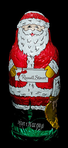Russell Stover Milk Chocolate Santa
