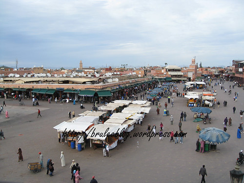 another shot of Djemaa el Fna in the daytime