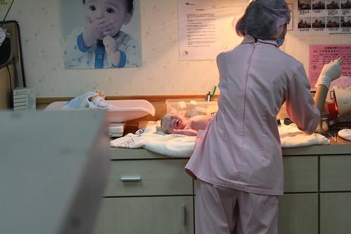 護士處理中