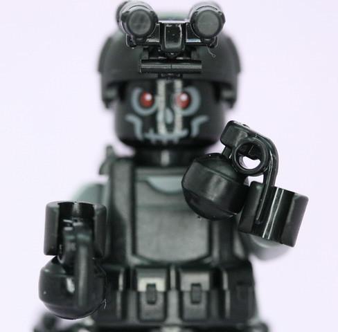 Navy Seal custom minifig grenades