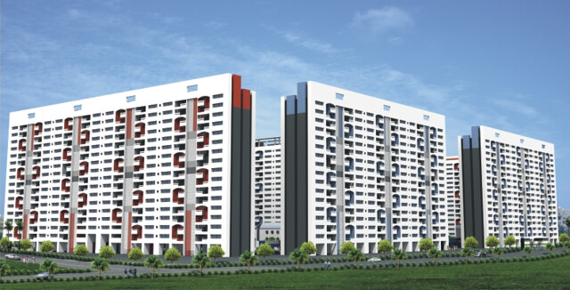 Kumar Pebble Park Handewadi Hadapsar Pune Highrise Towers