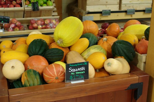 Squash @ King's Orchard (Kingsland Farmers' Market)