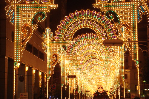 Il calore fluttuante della Luce @ Kobe Luminarie (Il cuore nella luce)