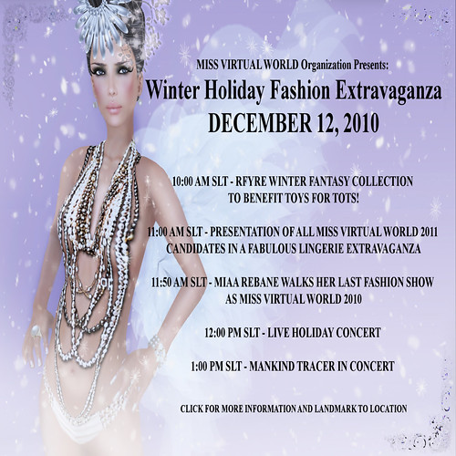 MVW Winter Holiday Fashion Invitation Image