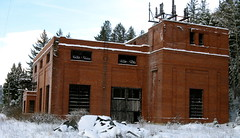 Ravenna Substation,Milwaukee Road,Montana. (montanatom1950) Tags: abandoned buildings montana decay ruin structures milwaukee dust railroads milwaukeerailroad milwaukeeroad abandonedrailroads