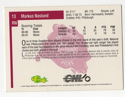 Classic Markus Naslund back