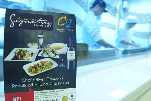 Chef Oliver Gascon Set Menu