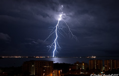 IMG_6660 (thunderstruck747) Tags: city sky storm nature weather skyline landscape australia darwin bolt thunderstorm lightning storms thunderstorms