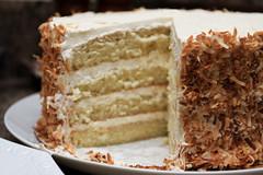 Coconut Layer Cake (the boastful baker) Tags: birthday food cake dessert baking coconut layer layers rum frosting buttercream foodandwine toastedcoconut