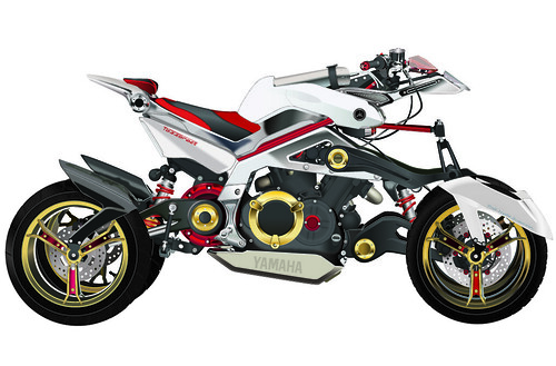 Yamaha Tesseract Concept X768-01 Vector Trace by bobsta14