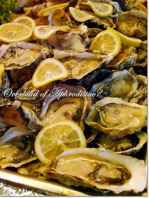 Fresh Oysters in Abundance