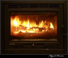 Fire #3 (miguel m2010) Tags: wood hot fire fogo madeira calor lenha fornalha recuperador