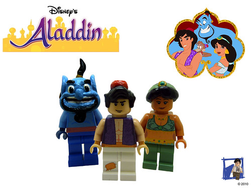 Aladdin Group custom minifigs