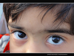 Kids eyes are cute ! (Umer Rasheed) Tags: cute kids eyes rasheed umer hx5v