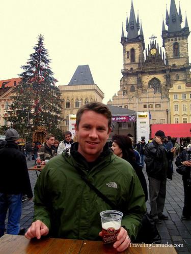 Pilsner in Prague, Czech Republic