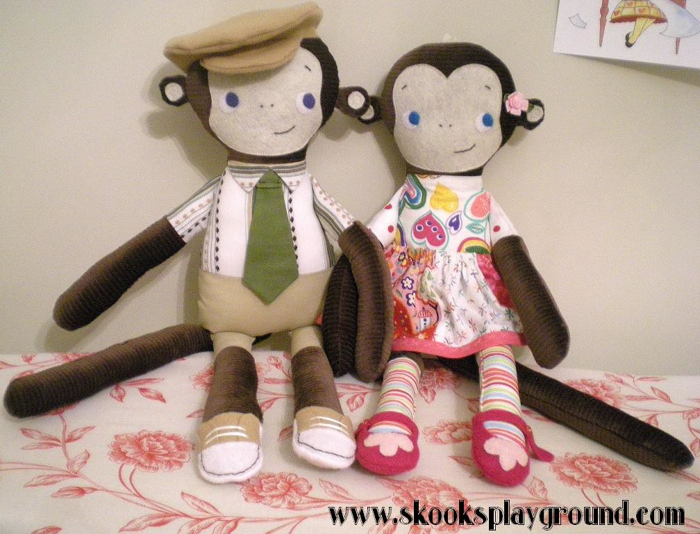 Mikey and Molly Monkey