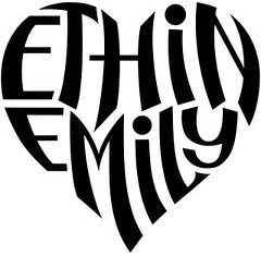 """Ethin"" & ""Emily"" Heart Design"