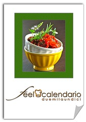 calendario di feelcook 2011