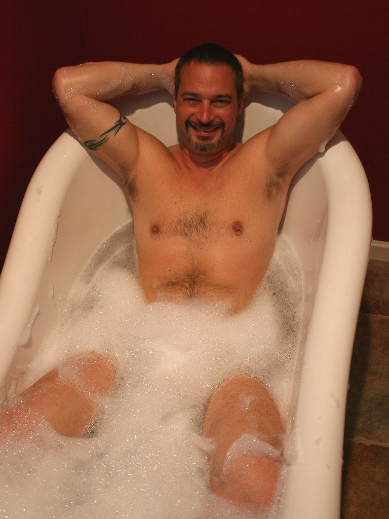 Assured, naked man bubble bath have passed