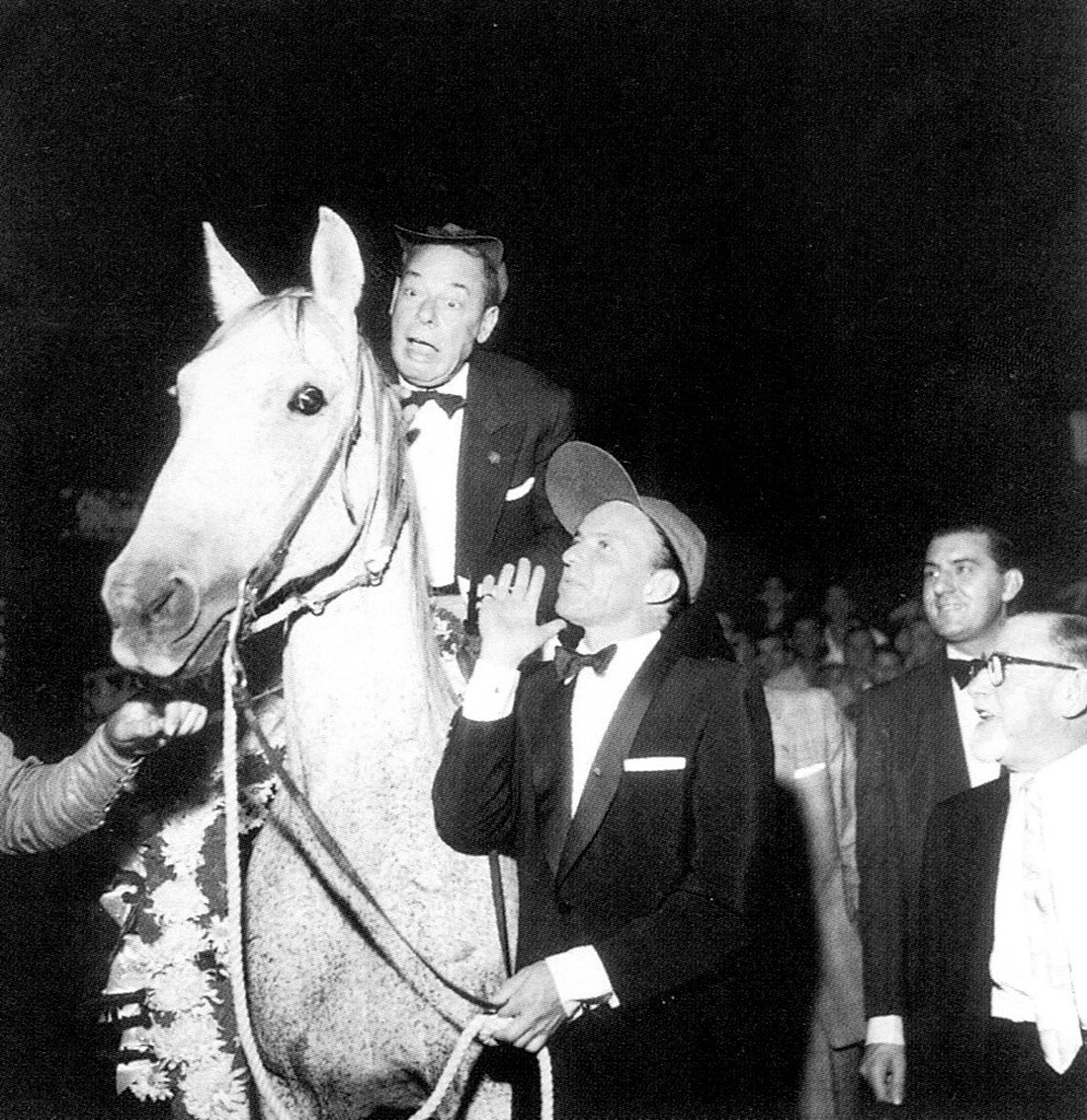 Frank Sinatra and Joe E. Lewis