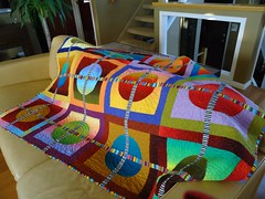 Circle Quilt 2009 (MariQuilts) Tags: longarm circlequilt