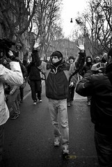 Esame di maturit (Daniele Butera) Tags: roma trastevere studenti manifestazione 22dicembre