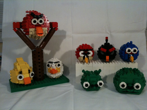Angry Birds Group Shot