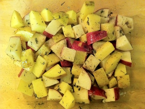 Roasted Potato's with Thyme