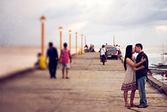 Candice and Ian: A Bohol Engagement Session (weddingpassport) Tags: wedding port pier engagement kiss kissing bohol session passport baclayon prenup engagementsession weddingpassport esession balwarte ianuy candicesia
