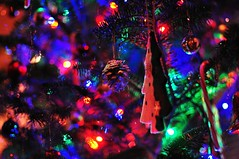 Colors of Christmas (hidesax) Tags: christmas light color tree home japan nikon bokeh decoration ornament saitama nikkor nikkor50mmf14d ageo d90 nikond90 colorsofchristmas hidesax