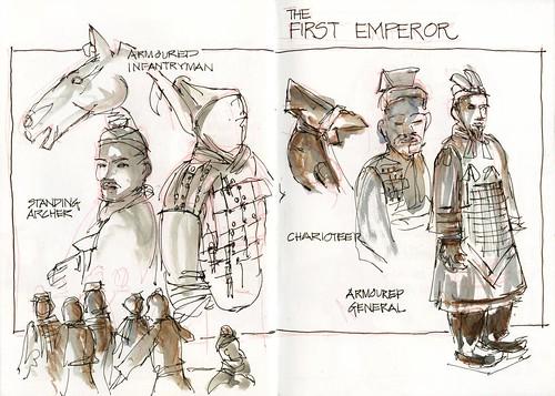 101224 Sketchy Xmas Eve06 Emperor Warriors