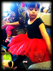 Lilly at the recital