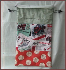 Farmall Drawstring Bag (.jwc.) Tags: christmas family original boy tractor tree love home girl photography photo whimsy king village quilt fig farm moda andover cricket queen full size kansascity international homemade fabric gift quilting vip co plow quilts friday cosmo harvester farmall bedding whimsey toggle 460 cranston harvesters drawstringbag joannafigueroa jennyweldingcaps