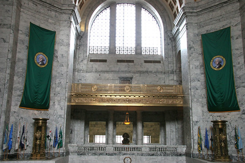 Washington State Capital in Olympia
