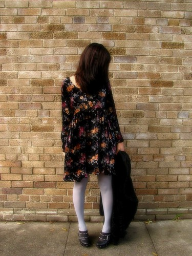 WHAT I WORE: CRUSH VELVET FLORAL