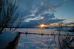 Keep Out (Tyrebagger) Tags: blue sky sun clouds scotland aberdeenshire farmland sigma1020 canoneos400d canon400d