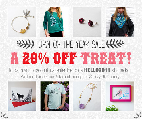 Turn of the Year Sale!