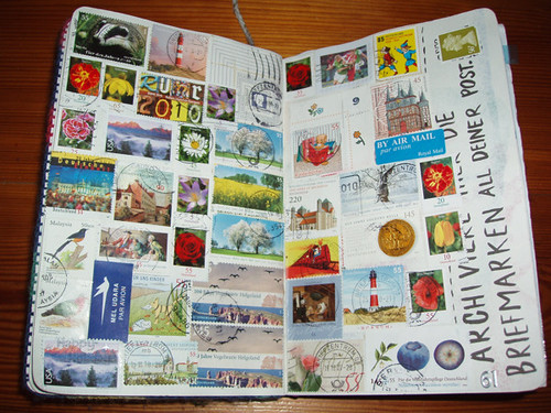 Wreck This Journal: Collect The Stamps Off Of All Your Mail.