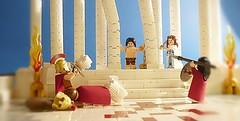 Samson and Delilah (Legoagogo) Tags: lego spartan chichester moc 7985 4603123