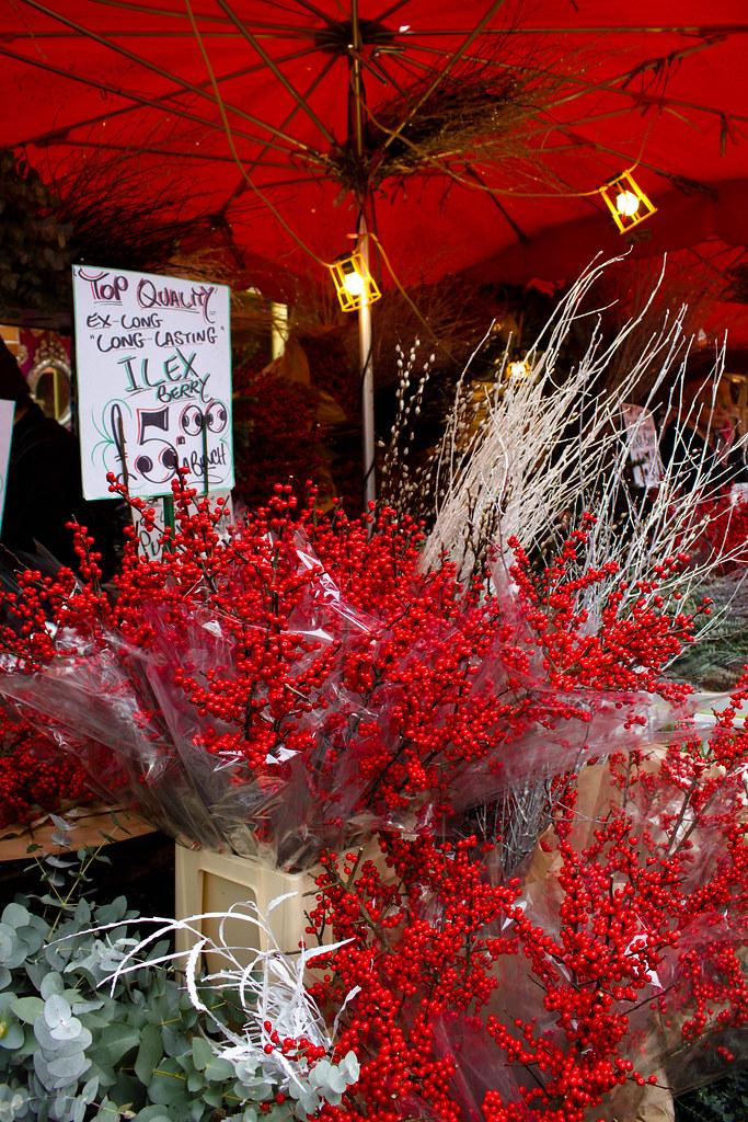 Le marché aux fleurs de Colombia Road