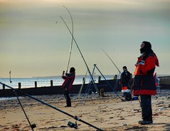 PB134573 Anglers on Hornsea Beach (pete riches) Tags: sea sky beach clouds sunrise coast fishing sand surf waves fishermen shingle resort northsea lures rods beachfishing casting nylon cloudporn bait waders wellingtons carbonfiber anglers fishingline fishingrod carbonfibre eastyorkshire hornsea angling holderness waterproofs monofilament seaanglers fishingtackle eastyorks hornseabeach athornsea peteriches lugwoms isthata14footpolebetweenyourlegsorareyoujustpleaswedtoseeme jupiter1uk