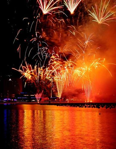 2011 New Year Firework at Marina Bay